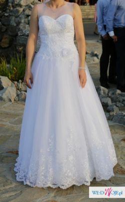 Suknia ślubna Afrodyta kolekcja 2015