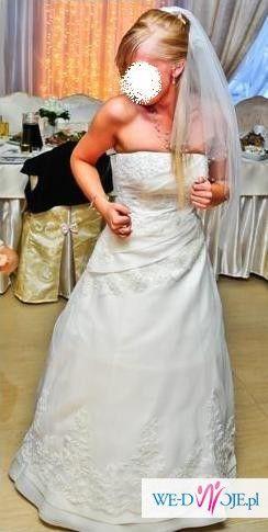Suknia ślubna Agnes 10499! TANIO!!!
