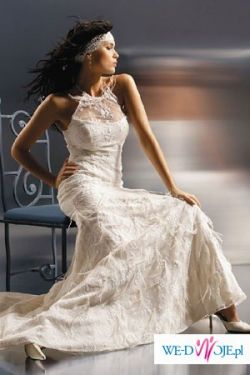 Suknia ślubna Agnes 1512 ecru - sprzedam