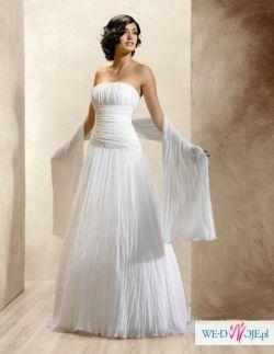 suknia ślubna AGNES 1756 biała