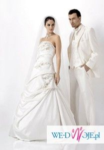 suknia ślubna Agnes 1827 piękna i romantyczna