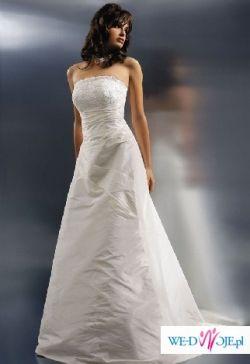 Suknia ślubna AGNES 2008 model 1546 Roz. 34/36