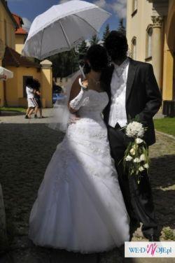 Suknia ślubna Agnes  + dodatki