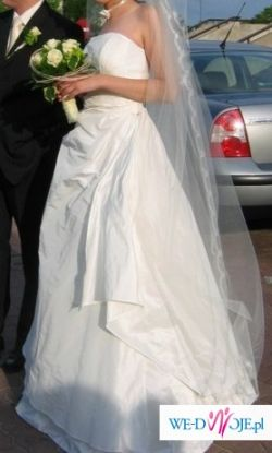 Suknia ślubna Agnes (ecru, rozm. 34/36)