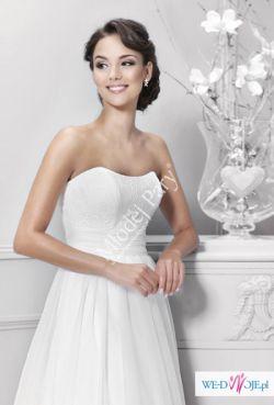 Suknia ślubna Agnes kolekcja 2015, model 14192 rozm.36/34