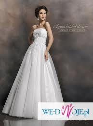Suknia Ślubna Agnes/ Secret Collection 10444 + GRATISY!