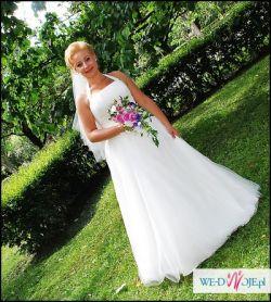 Suknia Ślubna Agnes10296 rozm.42/44 OKAZJA!!!
