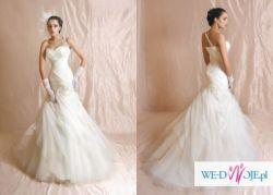 Suknia ślubna Agora 11-11 r. 36 idealna