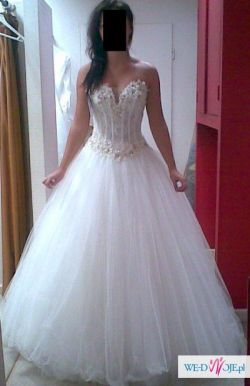 Suknia ślubna Agora Kamienie Swarovski Suknie ślubne Ogłoszenie