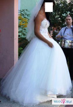 Suknia ślubna Agora Swarovski Suknie ślubne Ogłoszenie Komis