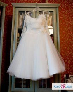 Suknia ślubna Amy Love lata 50 pin up 36