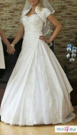 Suknia ślubna Anais Kryształki śliczna Suknie ślubne