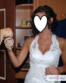 suknia ślubna ANALISA, roz.38, wzrost 173cm,piękna