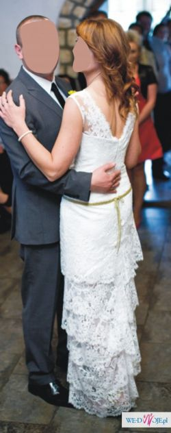 Suknia ślubna, Anna Kara, Cymbeline, koronkowa 38