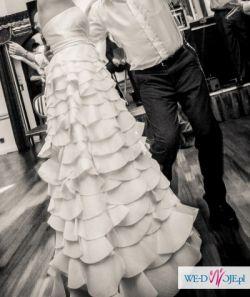 Suknia Ślubna ANNA KARA model MORGAN rozm 38
