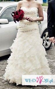 suknia ślubna ANNAIS BRIDAL CARRERA