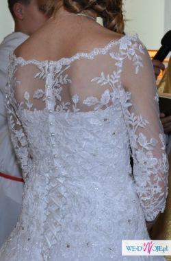 Suknia ślubna ANNAIS BRIDAL rozm. 34-36 + BOLERKO