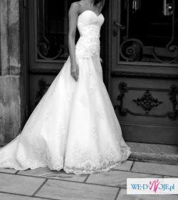 Suknia ślubna ANNAIS model KATE 34/36 biała
