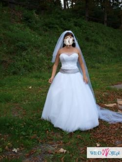 suknia ślubna ARABELLA szyk i skromność