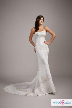 Suknia Ślubna- Arlington - Kraków - r.36, wzrost 175