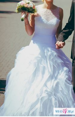 Suknia ślubna Arona hit 2013- zakupiona w salonie La Sposa