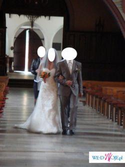 Suknia Ślubna ASPERA długi TREN....