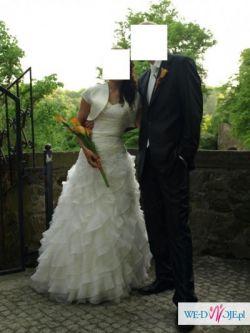 Suknia ślubna Atelier Diagonal 1843 rozmiar 34/36 - OKAZJA!!!