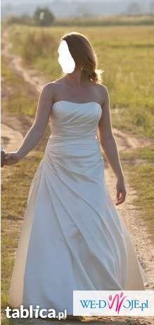 Suknia Ślubna Atelier Diagonal 2808 ___ rozm. 38 + GRATIS