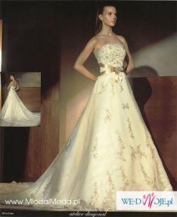 Suknia Ślubna ATELIER DIAGONAL model 820