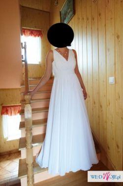 Suknia ślubna-autorski projekt.