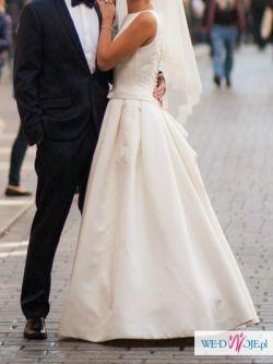 Suknia ślubna Avenue Diagonal Genet r. 36 (jak Pronovias Barcaza)