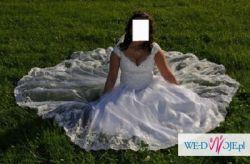 Suknia ślubna bajkowa rozmiar 38-44