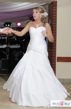 Suknia ślubna BERLIN LA SPOSA -wyjątkowa,elegancka !!BOLERKO WELON GRATIS!!