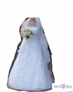 Suknia ślubna bez dodatków - TANIO!!!