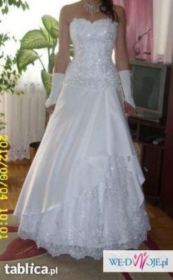 Suknia ślubna. Biała