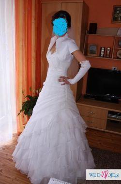 suknia ślubna biała 36/38