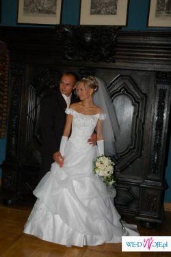 Suknia Ślubna biała 36