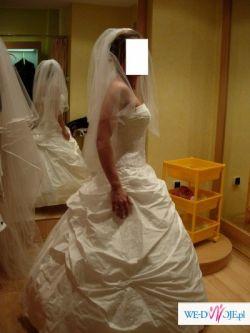 """Suknia ślubna BIAŁA 36 CYMBELINE """"EDISON"""""""