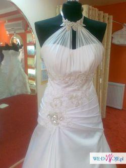 Suknia ślubna biała 38-44