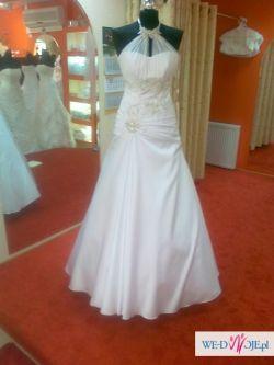 Suknia ślubna biała 40-44