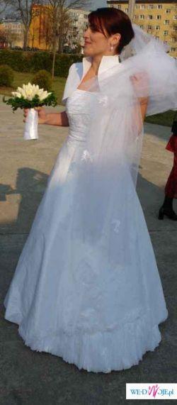Suknia ślubna- biała
