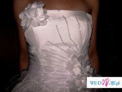 suknia slubna biala