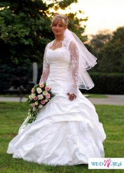 Suknia ślubna Biała Aiza Roz 4042 Patrz Na Wymiary