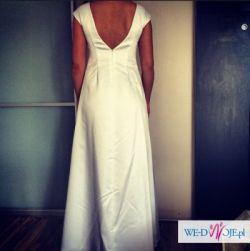 Suknia ślubna biała jedwabna Atelier d'Arc NOWA