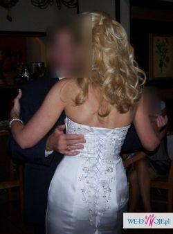 suknia ślubna biała - Marchelline Collection