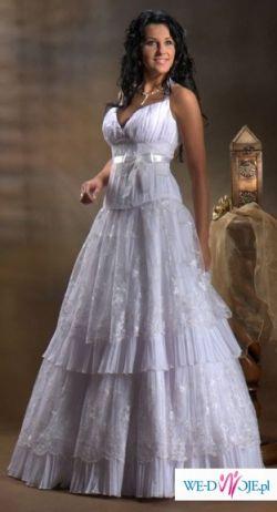 Suknia śłubna biała model 9110 z kolekcji Kareen