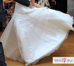 Suknia ślubna biała model Bayo