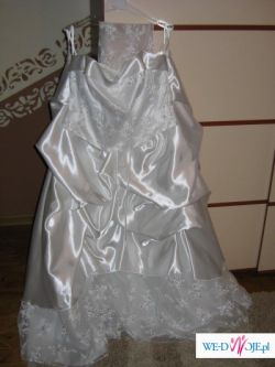 Suknia ślubna biała roz. 44