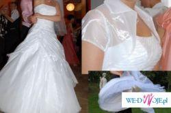 suknia ślubna biała rozm 36-38