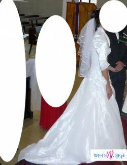 Suknia ślubna, biała, rozm 36
